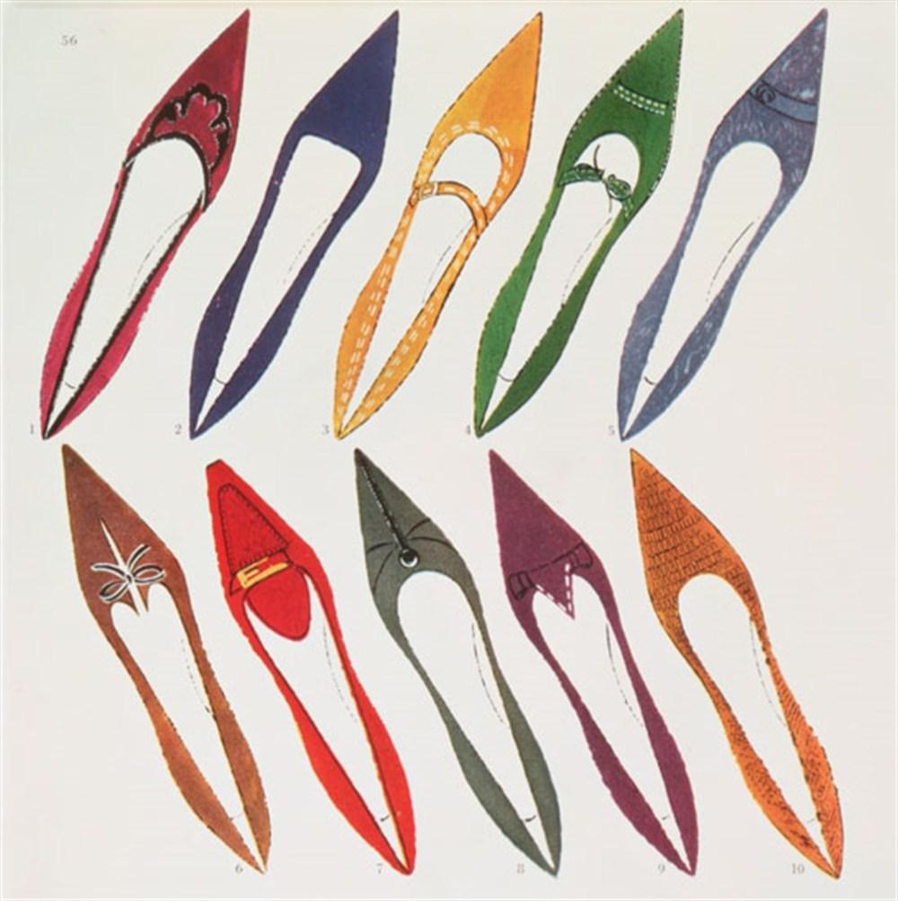 medium resolution of shoe illustration for harper s bazaar c 1958 andy warhol