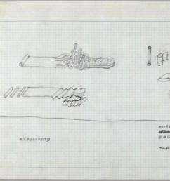 first studies of sculpture with flexible materials alan saret 1967  [ 2000 x 1002 Pixel ]