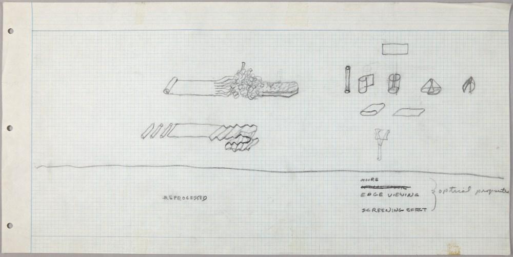 medium resolution of first studies of sculpture with flexible materials alan saret 1967