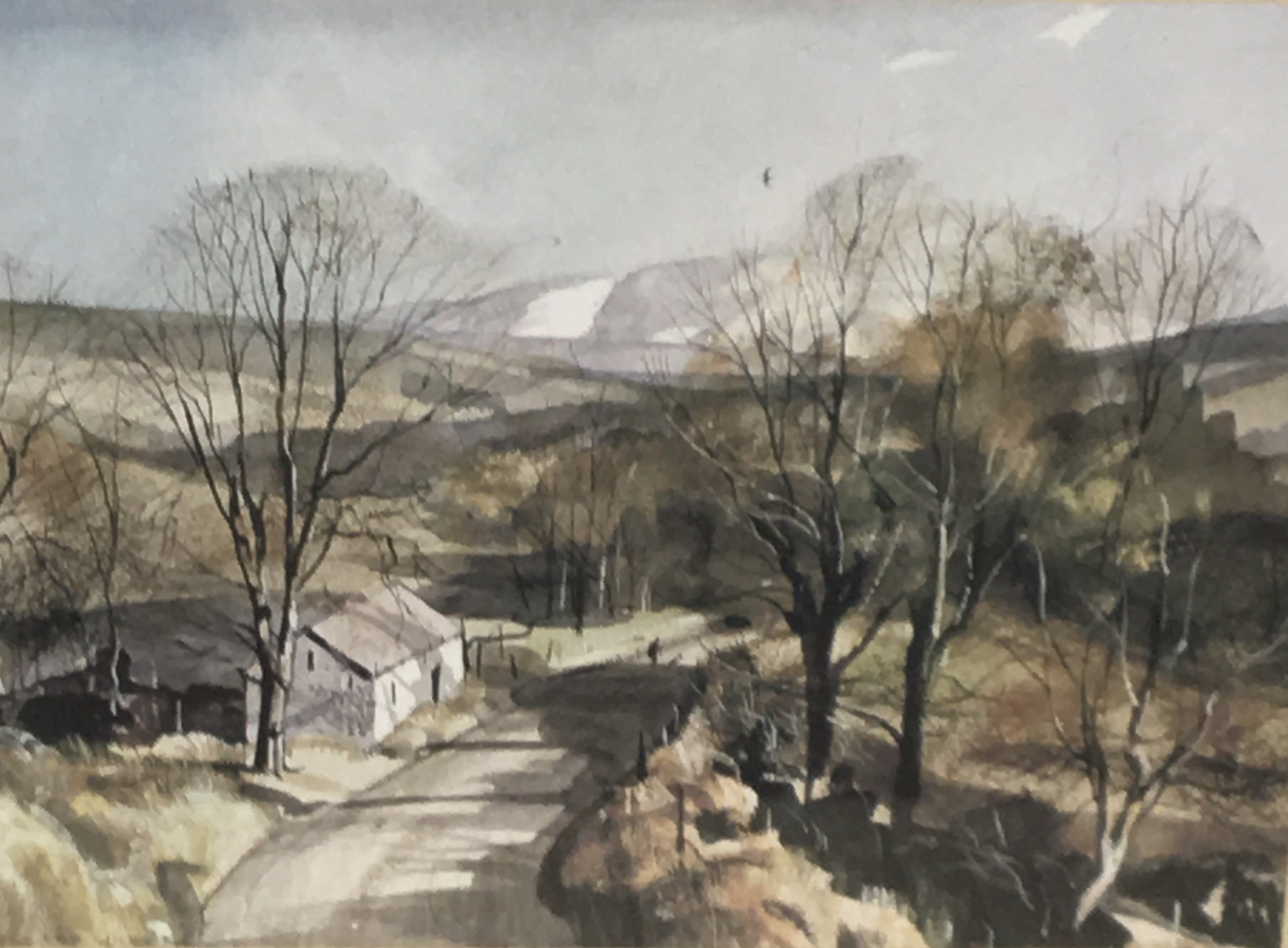 Spring in the Dales by Rowland Hilder
