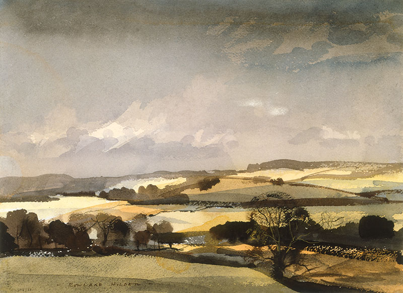 The Downs - Rowland Hilder