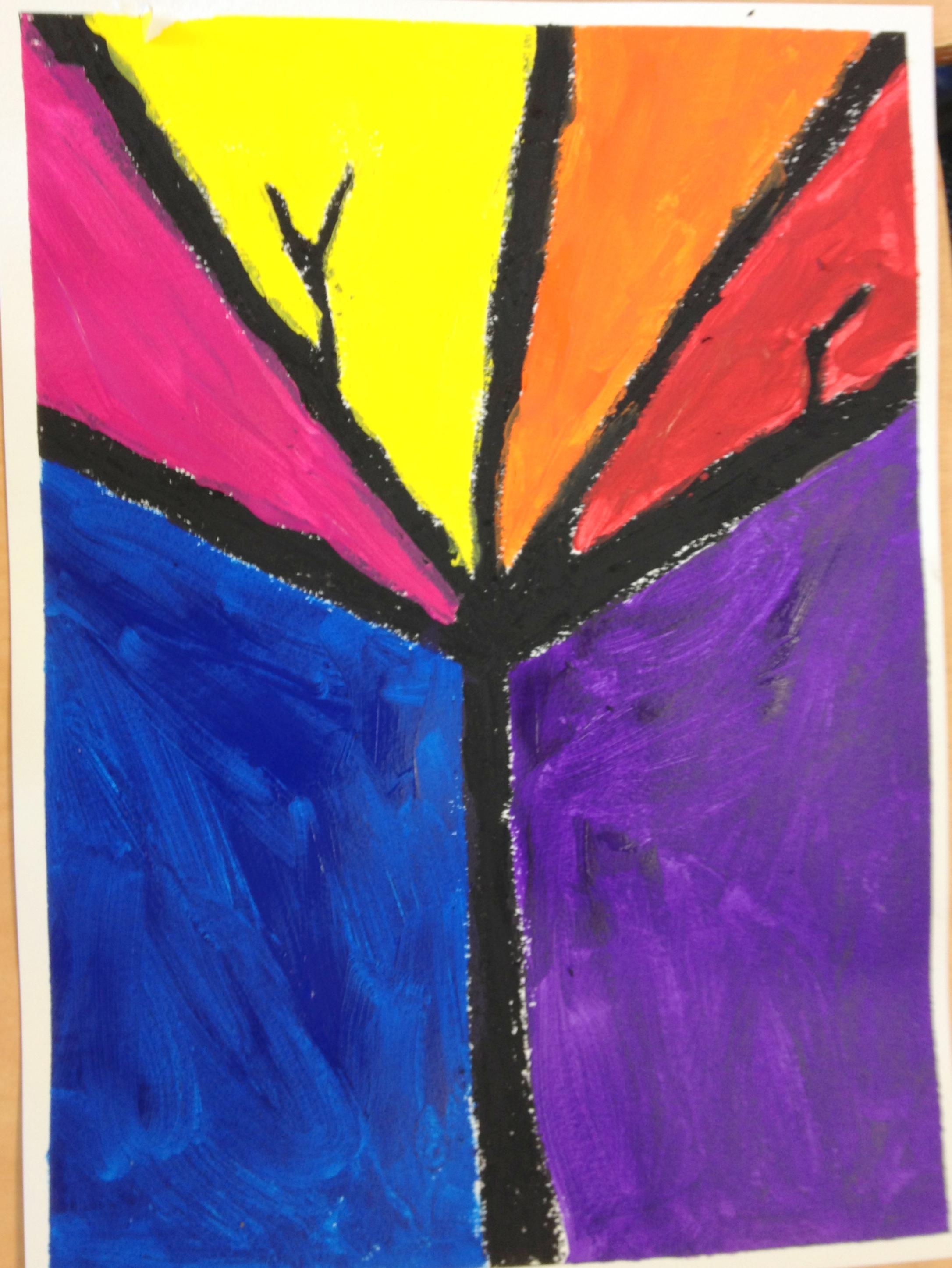 Trees Inspired By Ted Harrison Art In Action
