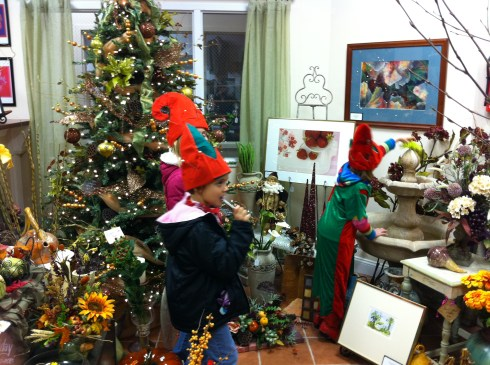 Elves in the shop!