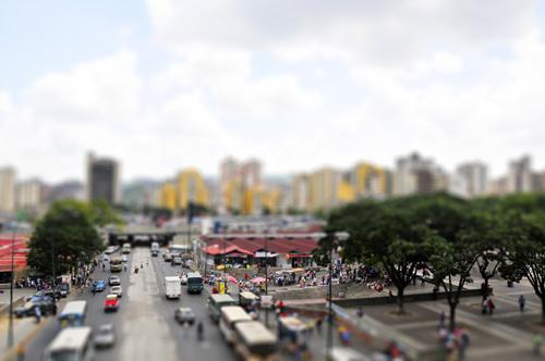 tilt-shift-caracas-marketplace