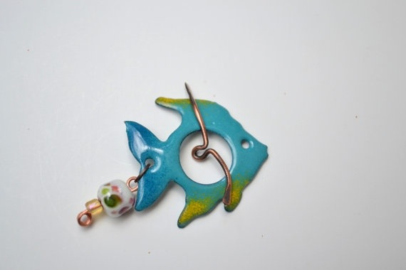 Angel Fish Toggle clasp