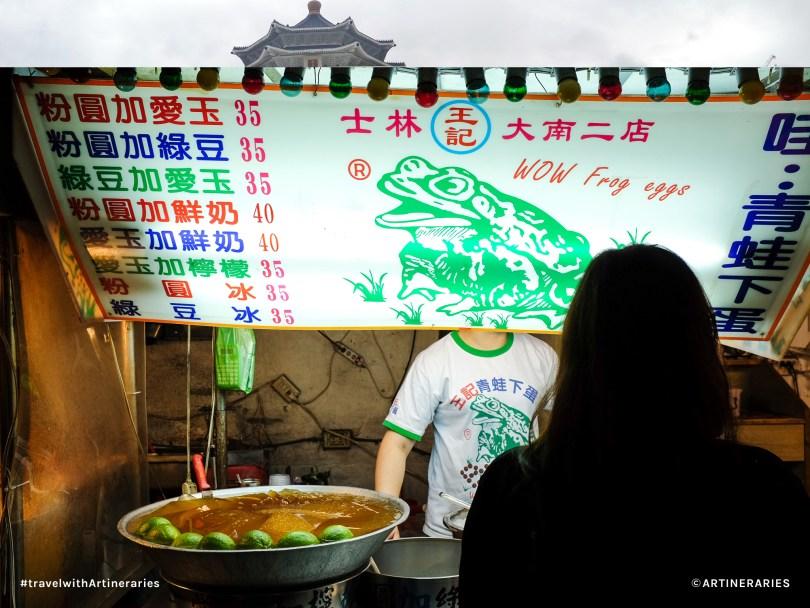Frog egg (?!) treats at the Shilin Night Market / Photo by Ivan Angelo
