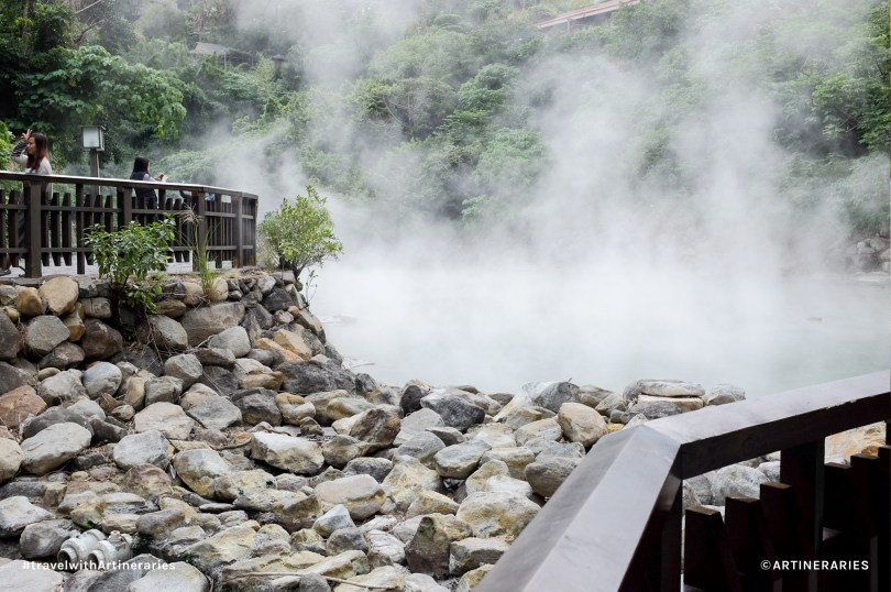 Famous thermal valley in Beitou