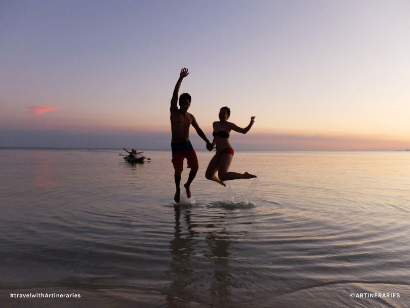 Jumpshots and pretty sunsets in San Juan, Siquijor