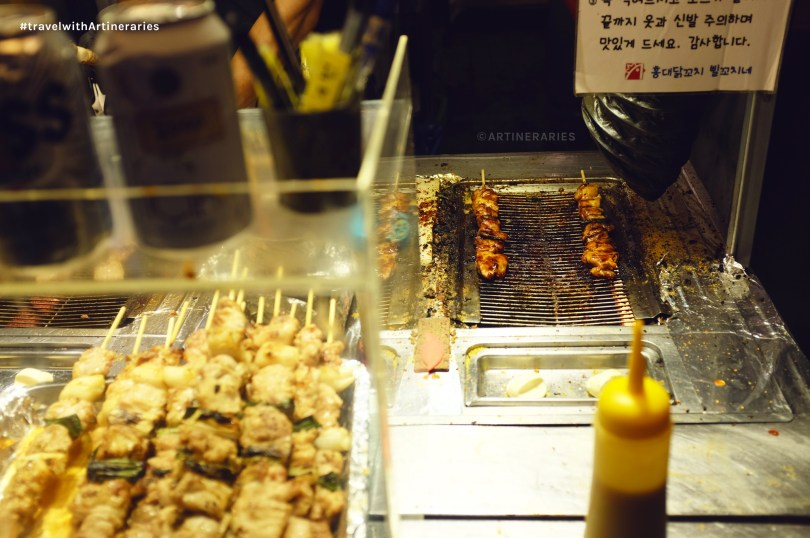 This barbeque from a random stall in Hongdae is the bomb! / Photo by Ivan Angelo
