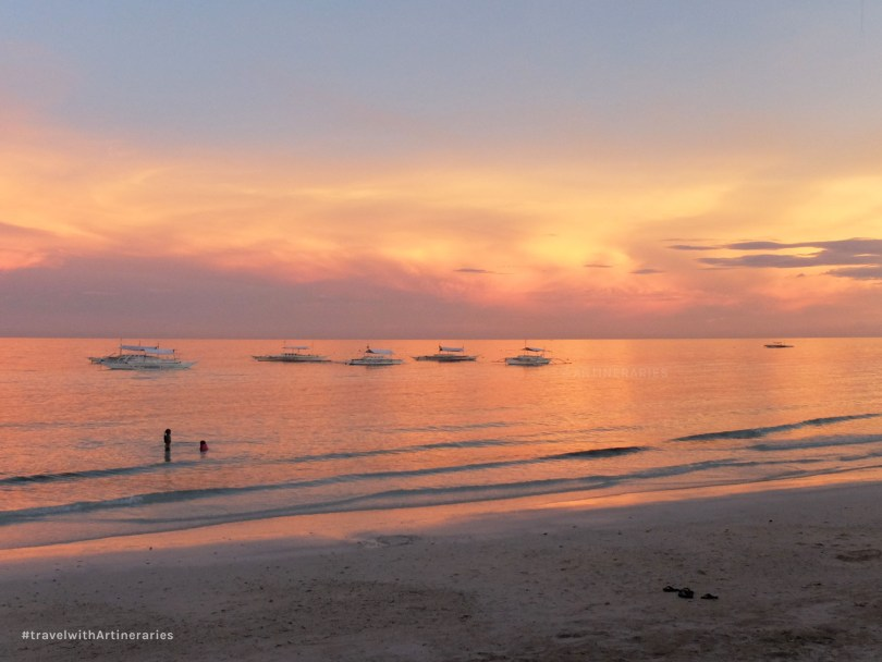 Sunsets in Panglao are one of the bests I've ever seen
