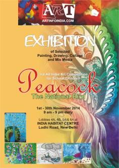 2014 November 1-30 Peacock The National Bird