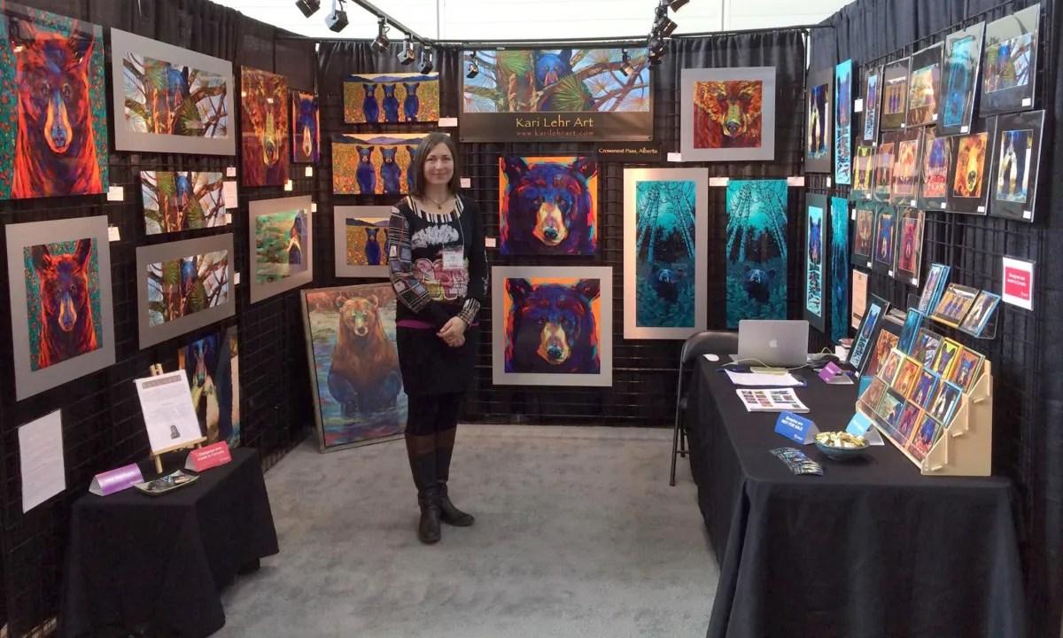 Artist Kari Lehr