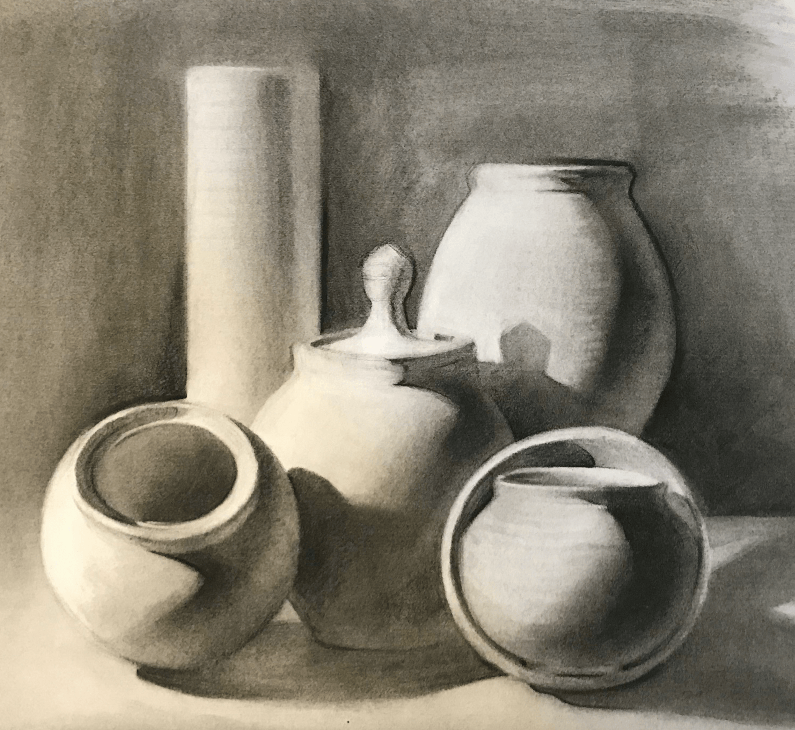 Draw With Charcoal Develop And Improve Your Drawing