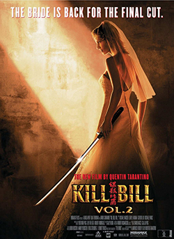 Kill Bill Vol 2 posterxx