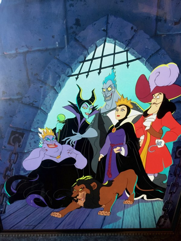 Dungeon Of Doom Disney Villains Kind Model Cel
