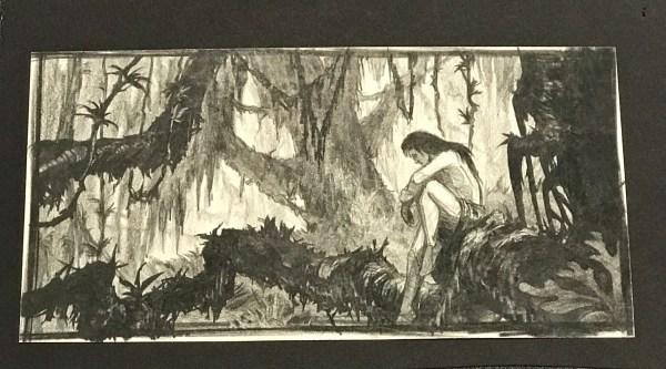 Disney Tarzan Concept Art