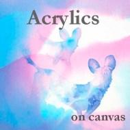 Acrylics by Alison Nicholls