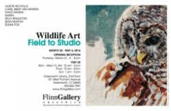 Wildlife Art: Field to Studio; Flinn Gallery, Greenwich, CT