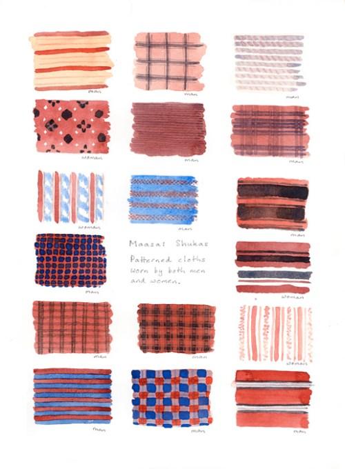 Maasai Shukas by Alison Nicholls 2014