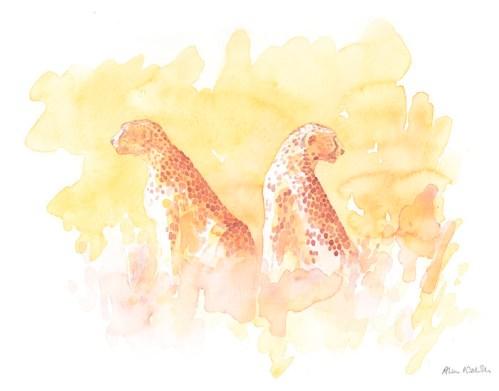 Serengeti Cheetahs by Alison Nicholls 2011