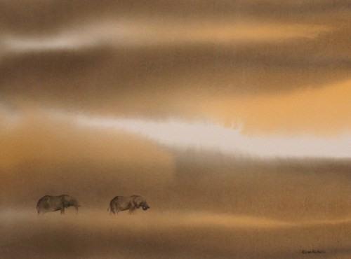 Under African Skies © Alison Nicholls 2009