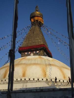 Buddhist stupa, Nepal. Photo by Alison & Nigel Nicholls