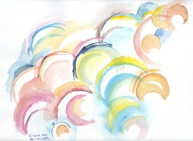 Eclipse Art by Alison Nicholls