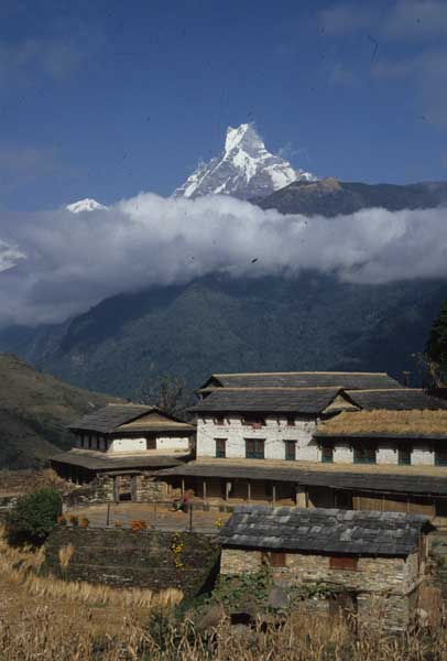Mount Machapuchare, Nepal