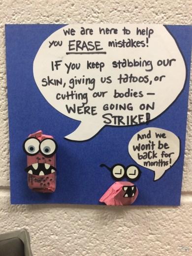 Eraser Talk
