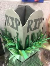 "Graveyard Box for ""dead"" supplies"