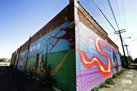 Summer in the City - Corner Mural