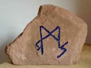 Sigille mit 3 Runen
