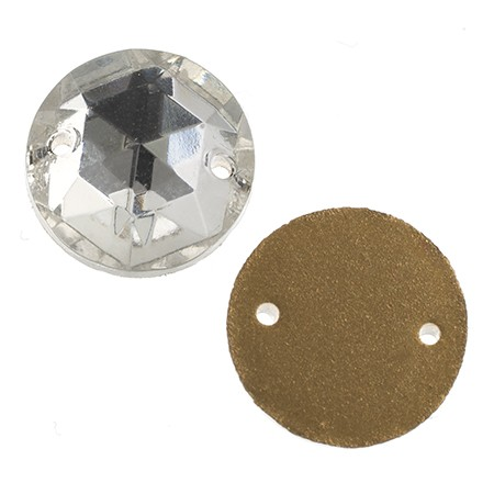 STONE GLASS ROUND CRYSTAL 10MM