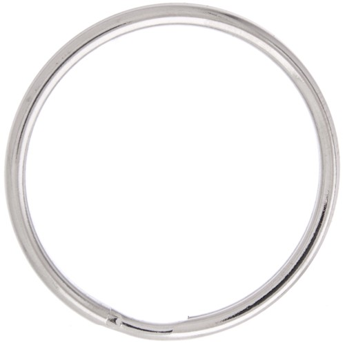 SPLIT RING 36 MM NICKEL