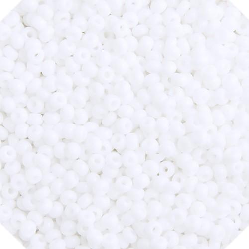 SEEDBEAD OP WHITE 10/0