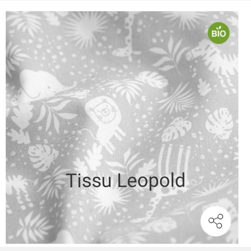 tissu Léopold