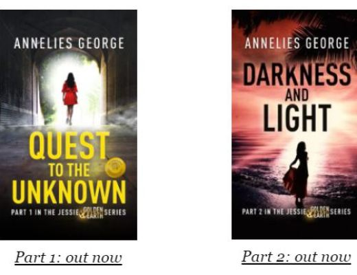 Jessie Golden Earth Series by Annelies George – Review