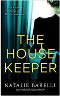"Alt=""the Housekeeper: A twisted psychological thriller by Natalie Barelli"""