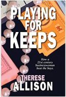 "Alt=""playing for keeps by therese allison"""