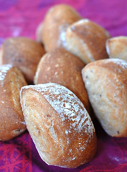 Whole Grain Baguette Buns | Artisan Bread in Five Minutes a Day