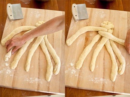 How to: Six Strand Braided Challah | Artisan Bread in Five Minutes a Day