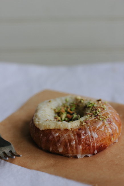 Brioche Danish with Goat Cheese and Pistachios   Bread in 5