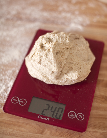 Bread Dough on a Kitchen Scale | Artisan Bread in Five Minutes a Day