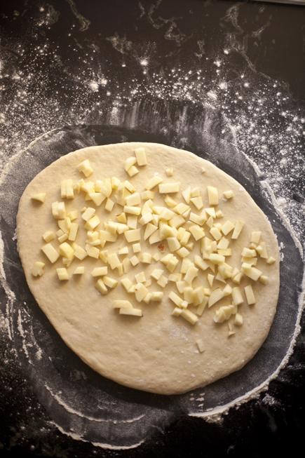 Apple Challah | Breadin5 02