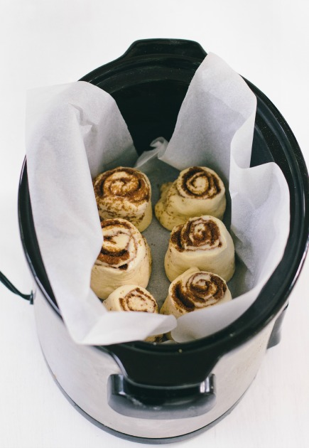 Make Cinnamon Rolls in the Crock Pot | bread in 5