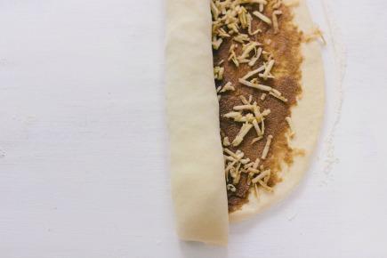 Rolling Caramel Apple Brioche Cake   Artisan Bread in 5 Minutes a Day