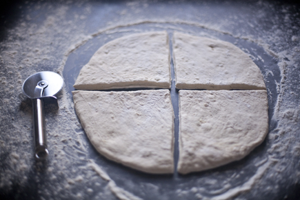 Sliced Fougasse Dough | Artisan Bread in 5 Minutes a Day