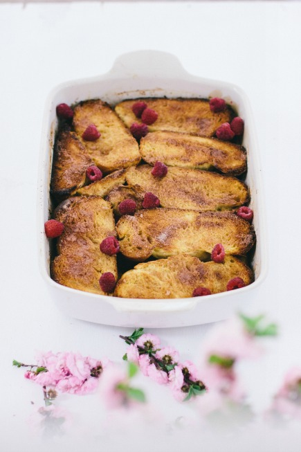 baked french toast | bread in 5