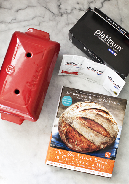 Bread Baker, Book and Platinum Giveaway | Artisan Bread in Five Minutes a Day