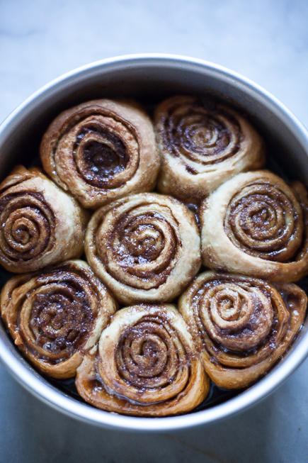 Caramel Cinnamon Buns | Artisan Bread in Five Minutes a Day